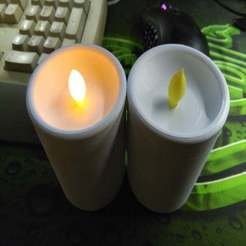IMG_20191011_000114.jpg Download free OBJ file LED candle • 3D print model, muse_sriuboj