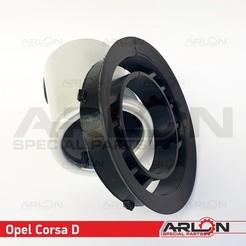 """Opel Corsa D 2.jpg Download STL file Air Vent Gauge Pod, 52mm, Fits Opel Corsa D """"Arlon Special Parts"""" • Object to 3D print, Arlon"""