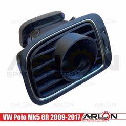 """1.jpg Télécharger fichier STL 💥💥👉 jauge de ventilation, 52mm, pour VW Polo Mk5 6R 2009-2017 """"Arlon Special Parts"""". • Objet pour imprimante 3D, Arlon"""
