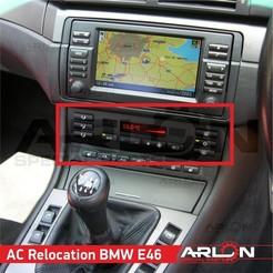 1.jpg Télécharger fichier STL 💥💥👉 AC Move frame adapter BMW e46, AC Relocation frame • Objet pour impression 3D, Arlon