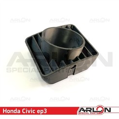"2.jpg Download STL file Air Vent Gauge Pod, 52mm, Fits Honda Civic EP3 ""Arlon Special Parts"" • 3D printer template, Arlon"