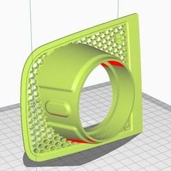 """Νέα εικόνα bitmap.jpg Download STL file Air Vent Gauge Pod, 52mm, Fits VW Golf mk7 V2""""Arlon Special Parts"""" • Object to 3D print, Arlon"""
