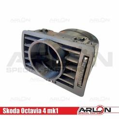 """1.jpg Download STL file 💥💥👉  Air Vent Gauge Pod, 52mm, Fits Skoda Octavia 4 mk1 """"Arlon Special Parts"""" • 3D print template, Arlon"""