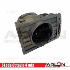 "1.jpg Download STL file 💥💥👉  Air Vent Gauge Pod, 52mm, Fits Skoda Octavia 4 mk1 v2""Arlon Special Parts"" • 3D printable object, Arlon"