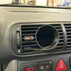 "125990517_372929247248896_1593347739013968232_n.jpg Download STL file 💥💥👉 Air Vent Gauge Pod, 52mm, Fits Seat Leon M1, Toledo, Audi A3 8L Central ""Arlon Special Parts"" • 3D printing template, Arlon"