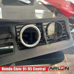 """1.jpg Télécharger fichier STL 💥💥👉 Jauge de purge d'air, 52mm, convient aux Honda civic 91-95 """"Arlon Special Parts"""". • Design à imprimer en 3D, Arlon"""