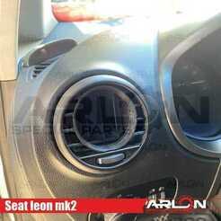 """1.jpg Download STL file 💥💥👉 Air Vent Gauge Pod, 52mm, Fits Seat Leon mk2 """"Arlon Special Parts"""" • 3D printer model, Arlon"""