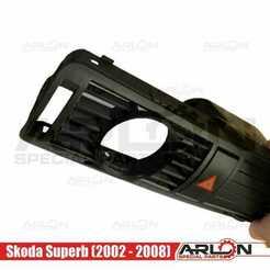 """1.jpg Télécharger fichier STL 💥💥👉 jauge de ventilation, 52mm, convient à Skoda Superb (2002 - 2008) """"Arlon Special Parts"""" (pièces spéciales d'Arlon) • Plan imprimable en 3D, Arlon"""