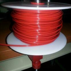 Foto_display_large.jpg Télécharger fichier STL gratuit Support de bobine de filament pour table • Objet pour impression 3D, WeSo