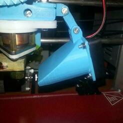 20130922_231039_Medium.jpg Download free STL file Regulable fan duct Jonas extruder 40mm (Budasch, E3D, CAT...) • Design to 3D print, WeSo