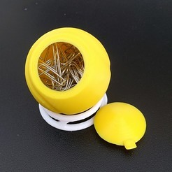 Download 3D printer model CLIP HOLDER - TENNIS BALL - DESK ORGANIZER, Mapache_3D