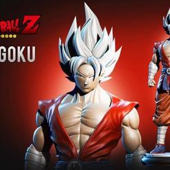 Download free 3D printing templates GOKU COLLECTIBLE, yaha_rr15