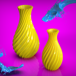 Download free STL file Vase Collection #5, The3Designer