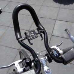 IMG_20200706_131407.png Télécharger fichier 3MF gratuit Bicyclettes Aero Bars Support pour téléphone • Objet à imprimer en 3D, The3Designer