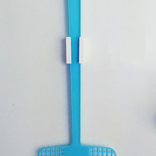 Download free 3D printer model Fly Swatter Mount, The3Designer