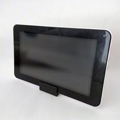 image_02.jpg Download free STL file Tablet Holder Stand • 3D print model, The3Designer