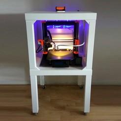 IMG_20200827_132014.jpg Download free 3MF file Ventilated Ikea LACK 3D Printer Enclosure • Model to 3D print, The3Designer