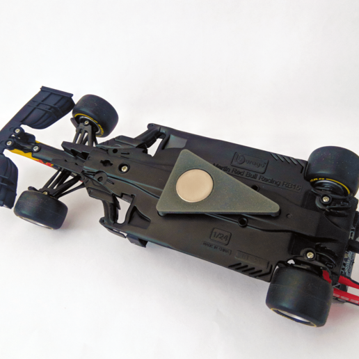 Download free 3D printing templates Max Verstappen RB14 & RB15 Magnetic Mount, The3Designer