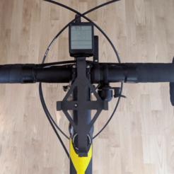 IMG_20200621_093512.png Télécharger fichier 3MF gratuit Support de montage pour ordinateur de vélo • Plan imprimable en 3D, The3Designer