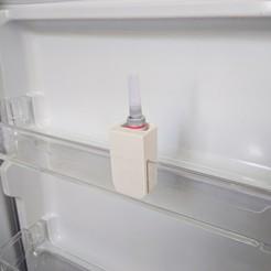 IMG_20190423_160341.jpg Download free STL file Super Glue Refrigerator Holder • 3D printer design, The3Designer