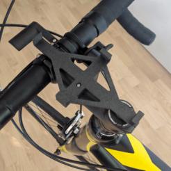 IMG_20200621_093120.png Télécharger fichier 3MF gratuit Support de téléphone à tige de bicyclette (pour Xiaomi Redmi Note 3 Pro) • Objet imprimable en 3D, The3Designer