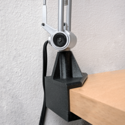 IMG_20200320_102823.png Download free 3MF file Lamp Corner Mounting Desk Bracket • Object to 3D print, The3Designer