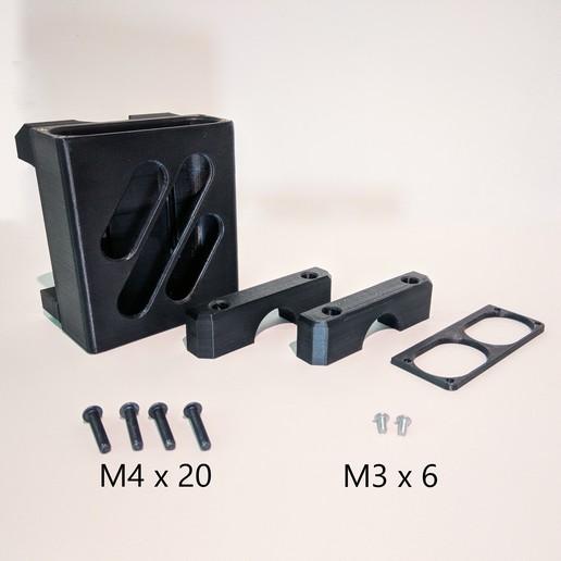 Download free 3D printer designs Xiaomi Power Bank Bicycle Seatpost Mount, The3Designer