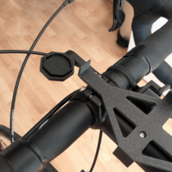 IMG_20200625_121655.png Télécharger fichier 3MF gratuit [V2] Support de montage pour ordinateur de vélo • Plan imprimable en 3D, The3Designer