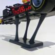 Download free 3D printing files [V2] Max Verstappen RB14 Scale Model Stand, The3Designer