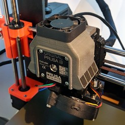 Download free 3D printer model Prusa i3 MK3(S) (+ MMU V2) Extruder Cooling Fan Duct, The3Designer