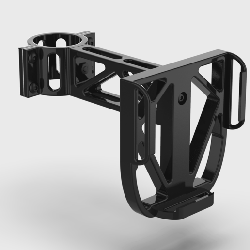 Download free 3D printing designs Pipe Clamp Phone Holder, The3Designer
