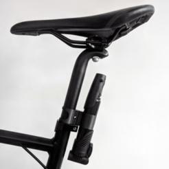 IMG_20200312_083913.png Télécharger fichier 3MF gratuit Support de tige de selle de pompe à vélo • Design à imprimer en 3D, The3Designer