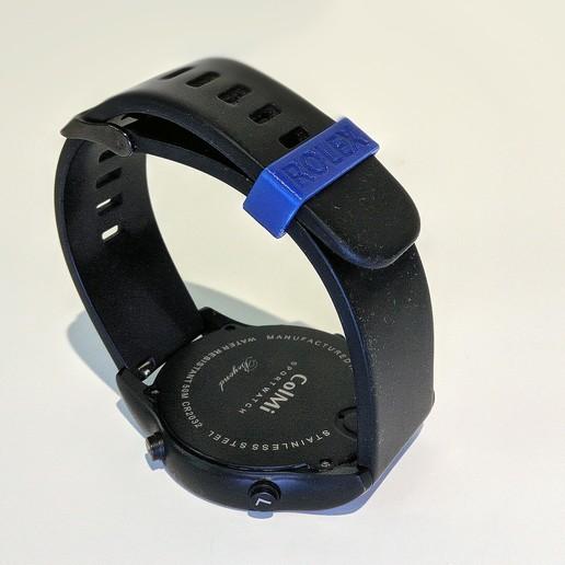 Download free 3D model Watch Band Strap Rolex, The3Designer