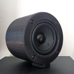speaker_enclosure.jpg Download free 3MF file Speaker Enclosure • 3D printer template, The3Designer