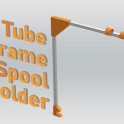 Capture d'écran 2020-08-17 à 15.03.42.png Télécharger fichier 3MF gratuit Porte-bobines sur cadre tubulaire de bureau • Objet pour impression 3D, The3Designer