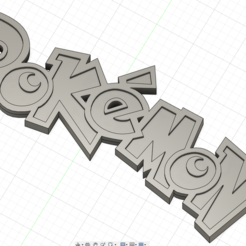 Download 3D printer templates Pokémon Logo, Jack31