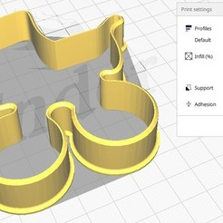 Bolacha Berço foto 1.jpg Télécharger fichier STL Forma de Bolacha Berço de Criança • Plan à imprimer en 3D, dudugoldbach2