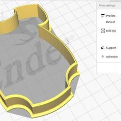 Bolacha Macacão  foto 1.jpg Télécharger fichier STL Forma de Bolacha Macacão • Modèle imprimable en 3D, dudugoldbach2