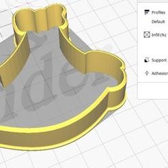Bolacha Criança2  foto 1.jpg Download STL file Forma de Bolacha Criança • 3D printing template, dudugoldbach2