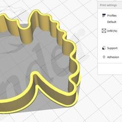 Bolacha Pombo  foto 1.jpg Télécharger fichier STL Forma de Bolacha Pombo da Paz • Design pour imprimante 3D, dudugoldbach2