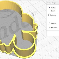 Bolacha Chocalho foto 1.jpg Télécharger fichier STL Forma de Bolacha Chocalho • Plan pour imprimante 3D, dudugoldbach2
