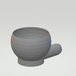 Untitled.png Download STL file food scoop • Model to 3D print, cremedy