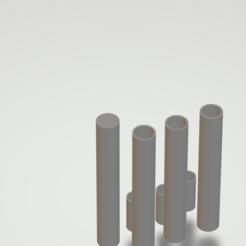 Untitled.png Download STL file Lightsaber blade can attach to lightsaber hilt • 3D printer model, cremedy