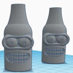 Screenshot_1.png Download free STL file Bender Futurama Hookah Mouthpiece • 3D print template, Espii