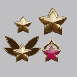 Download 3D printing templates League of Legends Star Guardian Jinx Accessories, kassie