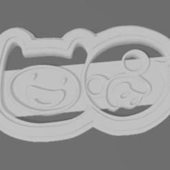 jake y finn1.JPG Télécharger fichier STL L'heure de l'aventure de Jake et Finn • Plan imprimable en 3D, agfalejandro1985