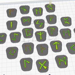 runas3.PNG Download STL file Nodic Runes [PACK] • 3D printable template, micheltos