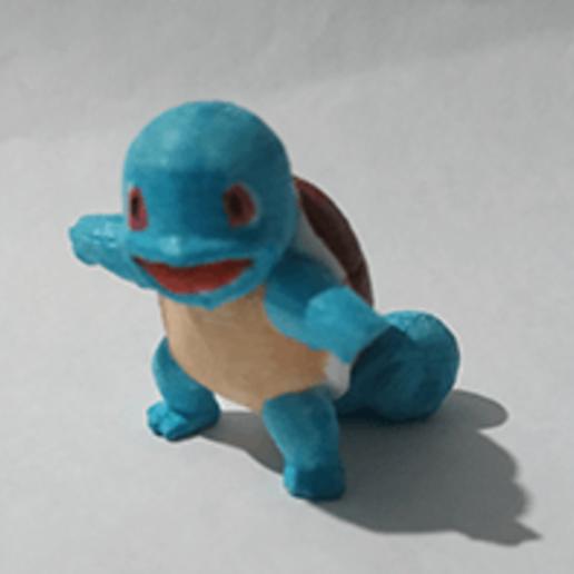 Download free STL file Squirtle(Pokemon) • 3D printing design, PatrickFanart