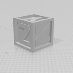Download free 3D printer designs CALIBRATION CUBE 5 X 5 CM FOR CALIBRATION ADJUSTMENT, EDUARDOSD