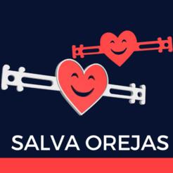 SALVA OREJAS.png Télécharger fichier STL EAR SAVER (protection auditive) Covid • Modèle pour imprimante 3D, melro_mh